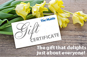 gift certificates for house cleaning in orange county ca