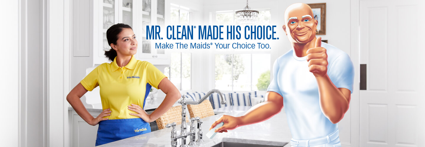 the maids home cleaning teams up with mr clean